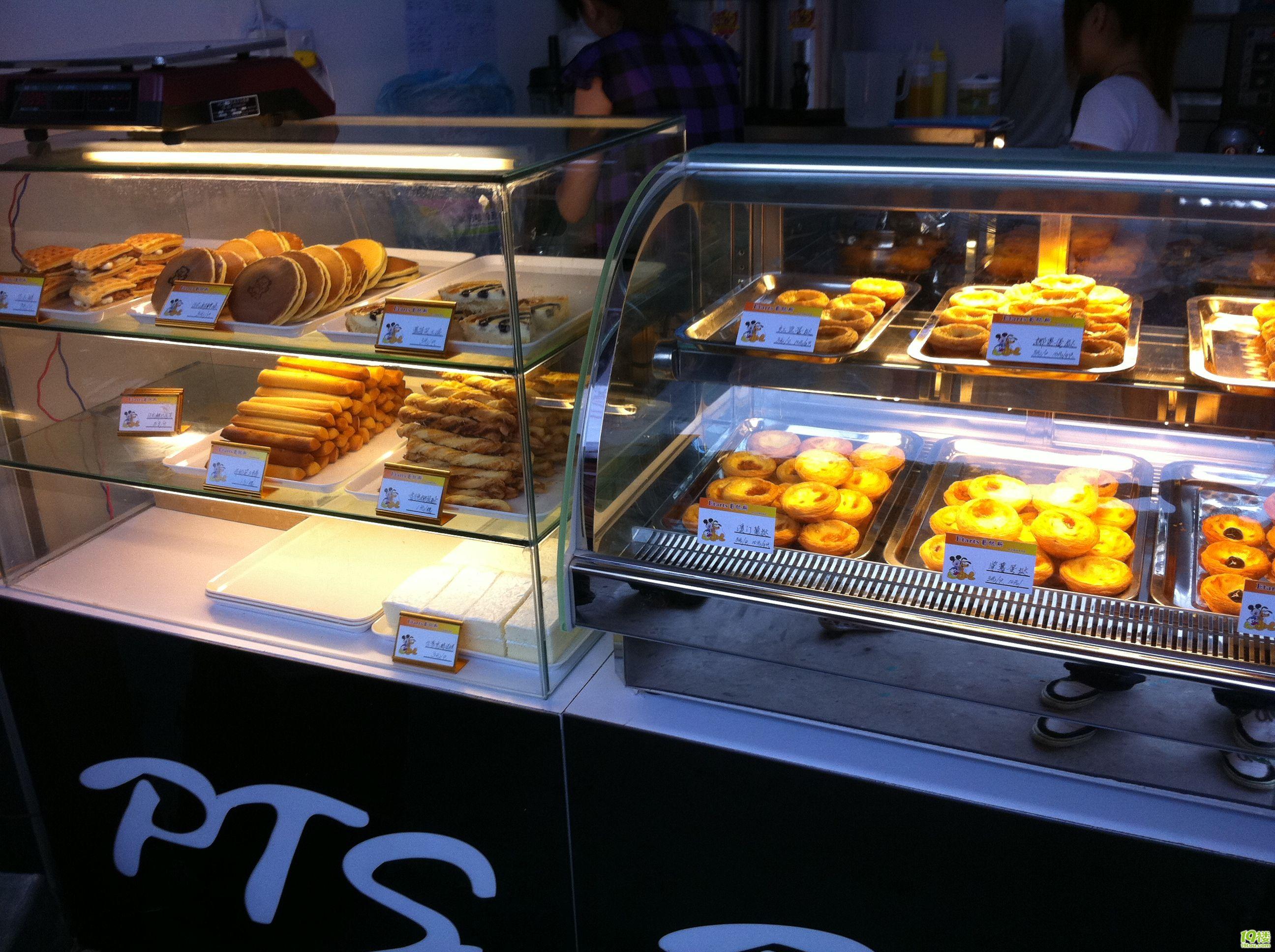 供应广州桌上型双层蛋挞柜 保温热柜 结构紧凑 线条流畅
