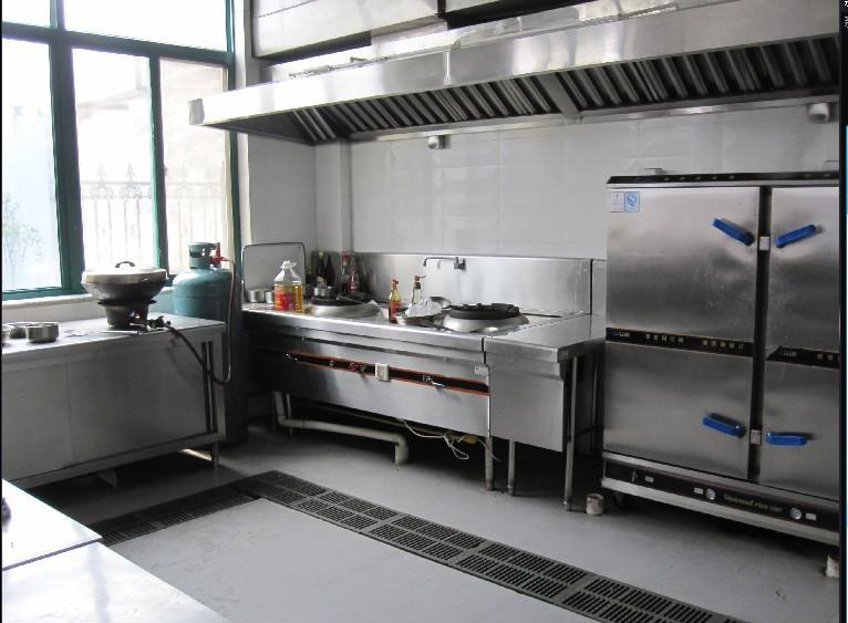 食堂厨房设计效果图