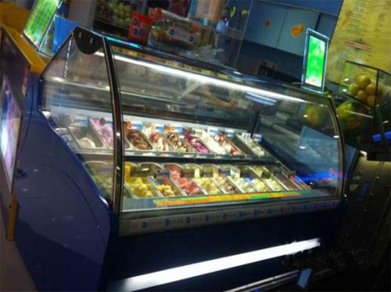 天虹商场雪糕柜子设计