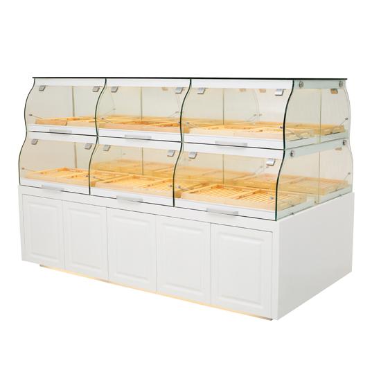 欧式中岛面包展示柜zdx-1.5r4