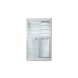 Stainless Steel Duel Temperature Kitchen Refrigerator and Rreezer