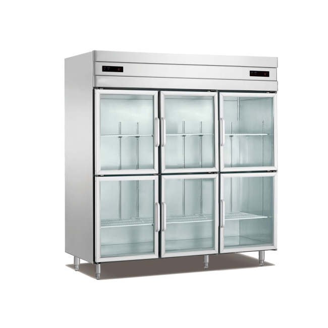 Section glass door reach in refrigeratorfreezer 3 section glass door reach in refrigeratorfreezer planetlyrics Images