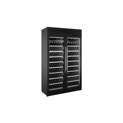 PHZ-DF-250 Two Sections Wine Display Cooler