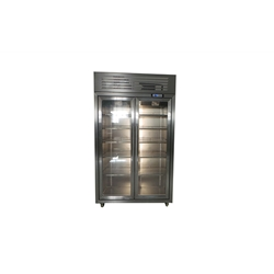 BYTS-2  Two-section Vertical Stainless Steel Display  Chillers